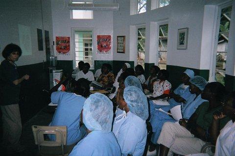 barbara-moloney-rn-dnp-teaching-the-nurses-in-haiti