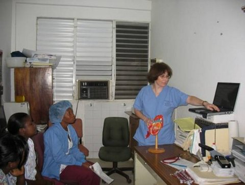 barbara-teaching-cardiology
